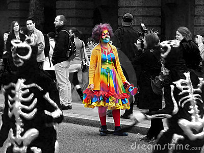 River Thames Festival Carnival 13th September 2009 Editorial Stock Image