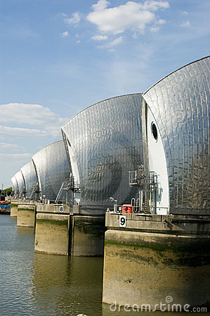 River Thames Flood Barrier, Greenwich
