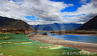 The river in tibet