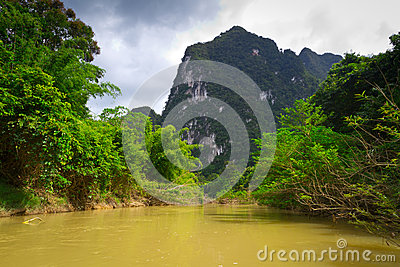 River trip in Khao Sok National Park