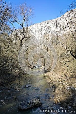 Free River - Turda Gorge - Cheile Turzii, Transylvania, Romania Royalty Free Stock Images - 51807269