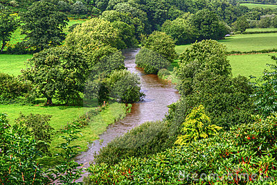 River in wales