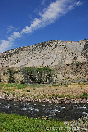 River In Yellowstone