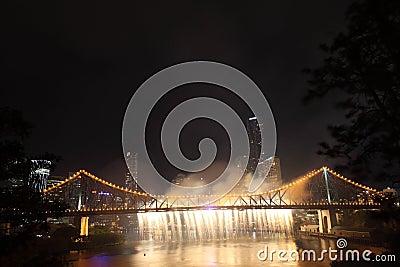 Riverfire Festival in Brisbane Editorial Image