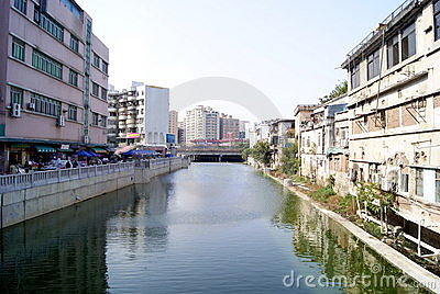 Rivers and old buildings