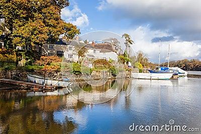Riverside at Autumn