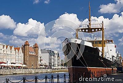 Riverside of Gdansk
