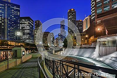 Riverwalk and Centennial Fountain
