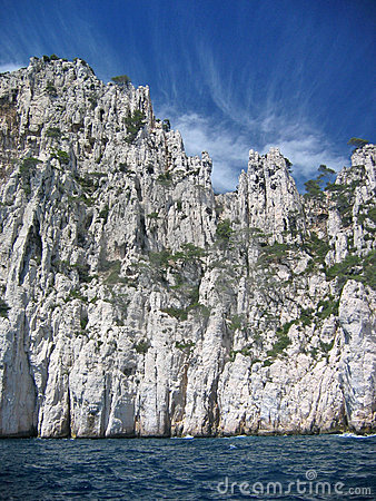 Riviera coastline