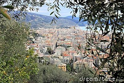 Riviera-Landschaft