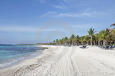 Riviera Maya Mexico Beach Stock Photo - Image: 16257970
