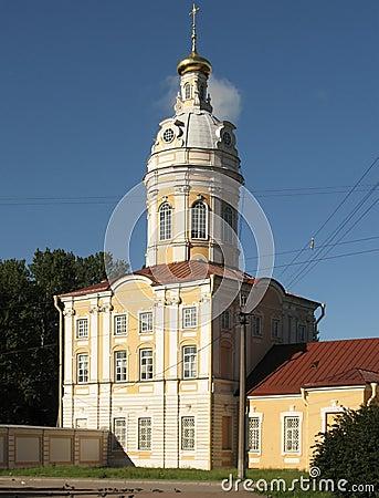 Riznichnaya (north-west) tower housing Prosfornogo