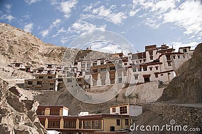Rizong Monastery in Ladakh