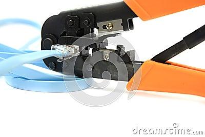 RJ11/RJ45 Network Cable Crimper Plier Tools