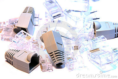 RJ45 connectors and covers