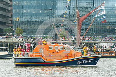 RNLI Lifeboat Editorial Photography