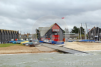 Rnli lifeboat station Editorial Stock Photo