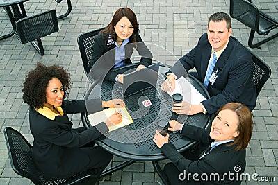Różnorodność biznesowi ludzie