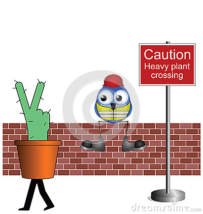 Rośliny ciężki skrzyżowanie
