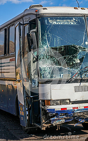 Road accident Editorial Stock Photo