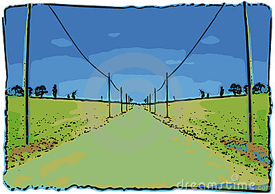 Road ahead (vector)
