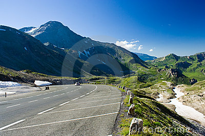 Road in Alps