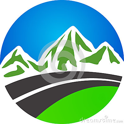 Free Road And Mountain Royalty Free Stock Photography - 25490907