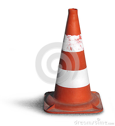 Free Road Bollard Traffic Cone Royalty Free Stock Images - 25659699