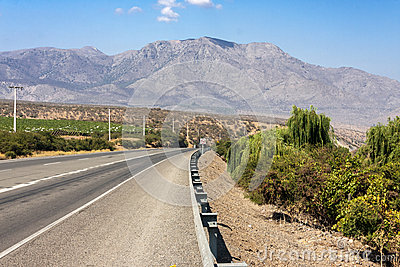 Road in Chile