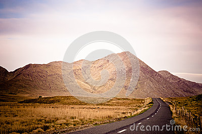 Road in Connemara, Ireland