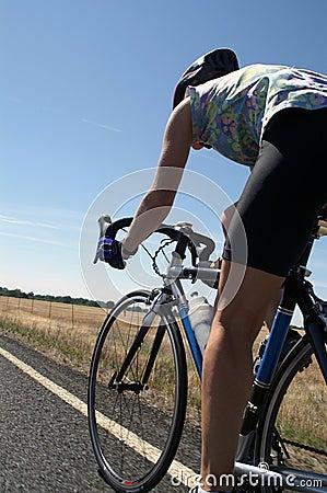 Free Road Cyclist Royalty Free Stock Photo - 1819685