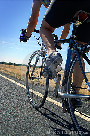 Free Road Cyclist Stock Photography - 885332