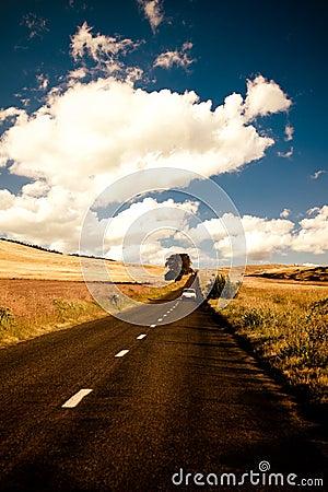 Road in Dobrogea