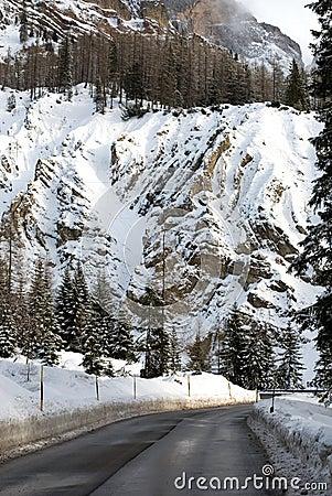 Road Through the Dolomites