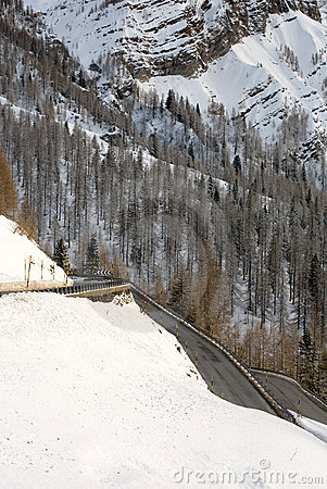Road Through the Dolomites