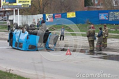 Road failure Editorial Photo