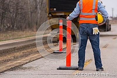 Road highway Construction worker
