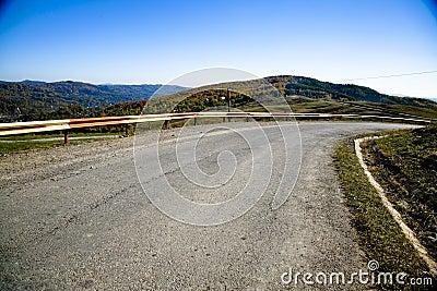 Road On Hills
