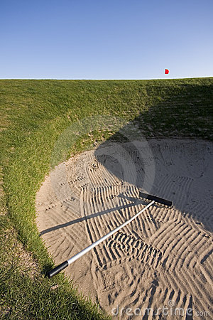Road Hole bunker, 17th, Old Course St Andrews