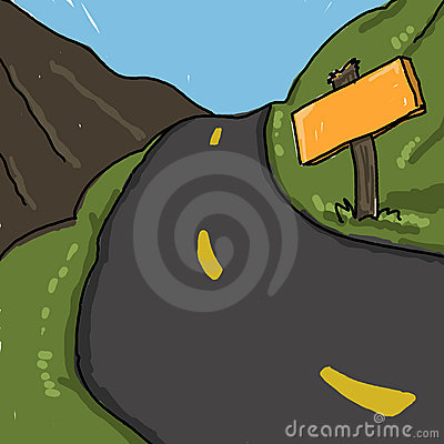 Road illustration