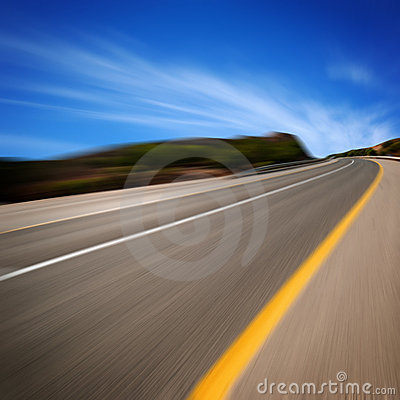 Free Road In Motion Royalty Free Stock Image - 7505976