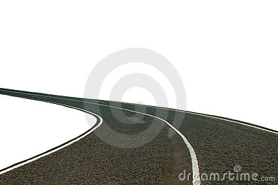 Road isolated