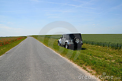 Road Jeep adventure