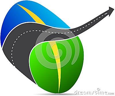 Road logo