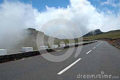 Road in Madeira Island