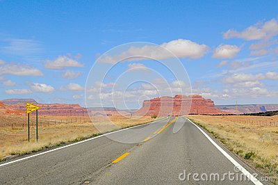 Road in Monument Valley Park II