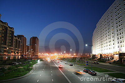 Road near ministry (Astana)