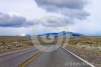 Road at Patagonia Argentina