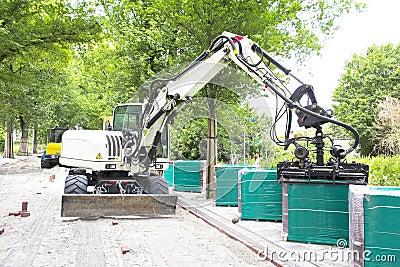 Road Paving, Heavy Machine