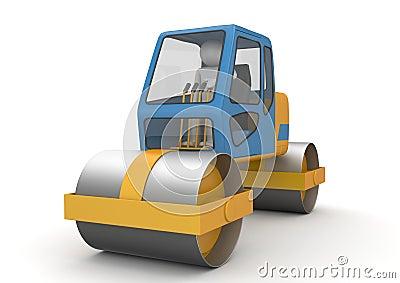 Road roller - Workers